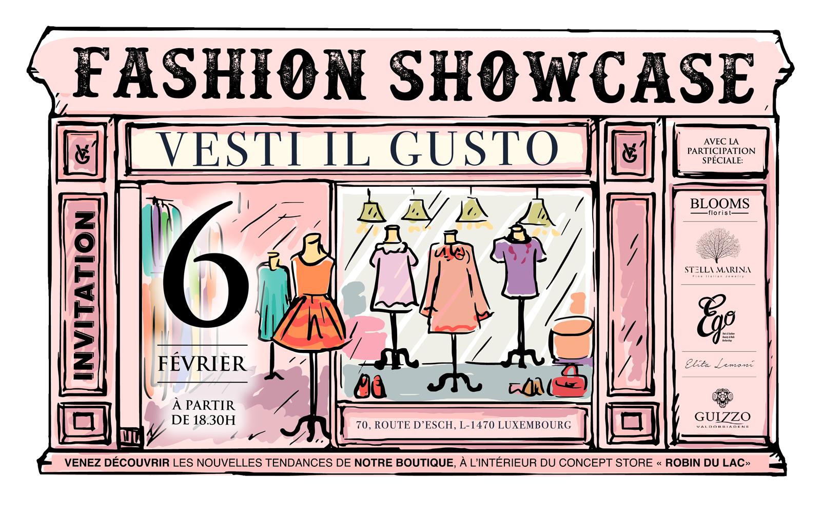 Fashion Showcase | MARDI 6 FÉVRIER 2018