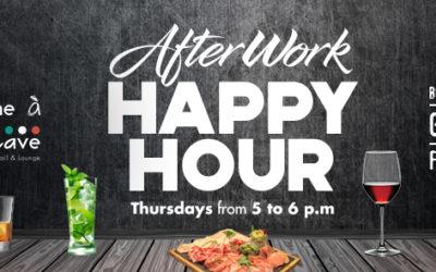 After Work Happy Hour – Come à la Cave